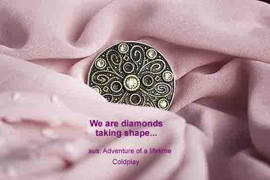 Diamond taking shape Kopie neu